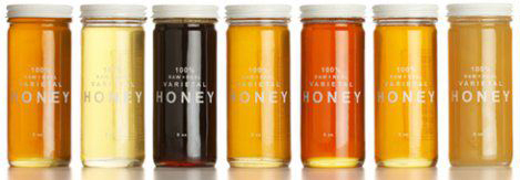 Bee Raw Honey Product Family